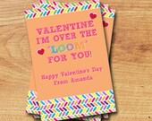 Classroom Valentines - Mini Valentines - Rainbow Loom Printable Valentine
