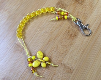 YELLOW - Bitty Butterfly - Golf Stroke Counting Beads - MAXI by TallyGators™