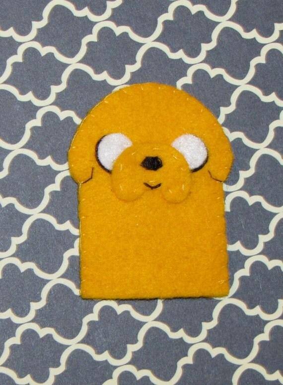 Jake the Dog Adventure Time Finger Puppet