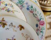 12 Vintage China Dessert/Fruit Bowls for Bridal Luncheons, Showers, Mismatched Tea Set, China Tea Set, Alice in Wonderland