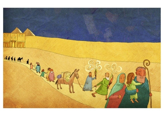 The Jesus Storybook Bible - Signed Print (Page 90 - 91)