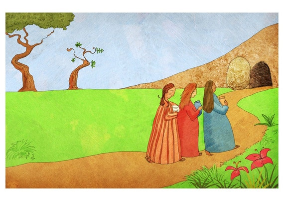 The Jesus Storybook Bible - Signed Print (Page 310 - 311)