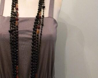 vintage. 70s  Dusty Purple Jersey Dress / S M