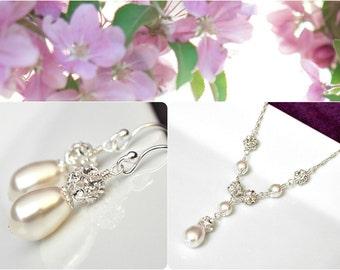 Bridal Jewellery SET, Wedding Jewelry SET, Bridal Necklace Set, Wedding Necklace Set