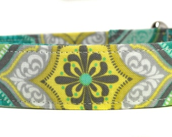 Floral Dog Collar - The Cali