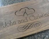 Personalized Cutting Board, Custom Cutting Board, Engraved Cutting Board, Custom Wedding Gift Engraved wedding or anniversary gift