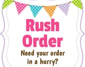 Rush Order - Order with any design in our shop - Customizable