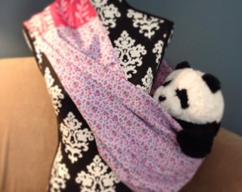 Purple & Pink Sling for Baby