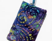 Eyeglass Cases Quilted Batik Decorative
