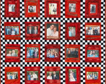 Customized Memory Art Quilt Wall Hanging