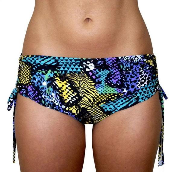 Hot Yoga Bum Bum Shorts In Neon Cobra Bikram Yoga Clothes