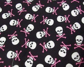 2 back seat activity bags with matching trash bag in skull print shown