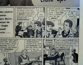 Pimples 1930's Fleischmans Yeast ad