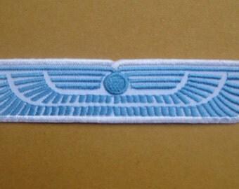 "Blue Wing Crew Alien Aliens Weyland Yutani Corp Patch Badge 2.5x12 cm 1""x4.75"""