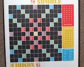Vintage Numble Game Board 1968