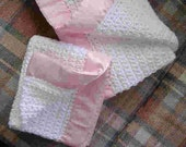 Baby Blanket with matching Doll blanket.