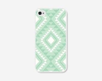 iPhone 5 Case Tribal iPhone 5c Case Geometric iPhone 6 Plus Case Mint Green iPhone 6 Case Tribal Geometric iPhone 5s Case