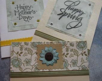 mothers day, happy spring, happy birthday cards