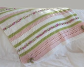 baby blanket Knitting PATTERN- Bon Bon Baby Blanket PDF