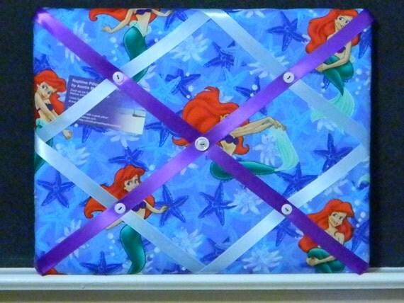 11 x 14 Ariel (the little mermaid)  Memory Board