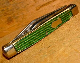 Vintage Seneca Cutlery Co Utica NY Pocket Knife