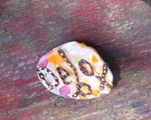 Debox Recycled Bottle Cap Pin OOAK Frugal Gift: Debox- shipping included