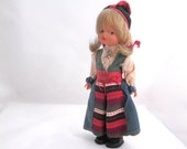 Traditional Costume Doll - Sweden - Rattvik - Europe