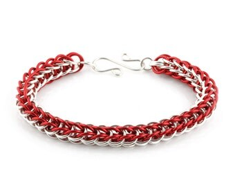 Full Persian Chainmaille Bracelet Kit - Persian Fire