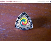 ON SALE Vintage 60s AMA Lapel Pin American Motorcycle Association Hat Jacket Badge Pin Button