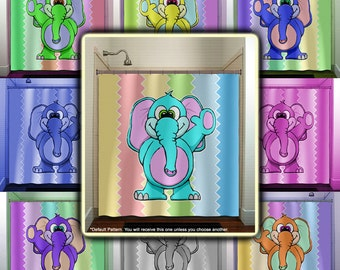 Popular items for kids shower curtain on Etsy