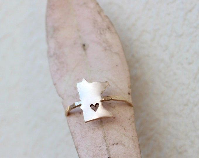 Gold Any State Love Ring