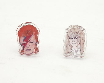 Best Bowies Acrylic Earrings