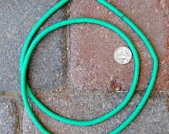 Vinyl Discs: Turquoise Green 5x1mm