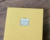 Amp Notebook - Vintage Amplifier Cahier