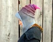 Fairy Hood. Fantasy Hat. Cosplay Hat. LARP.