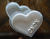 Tovolo Heart Shaped Mold, Ice Cream Sandwich Press, Butter, Soap or Crafts, XOXO, Fun for Valentines Day, Wedding, Anniversary or Engagement