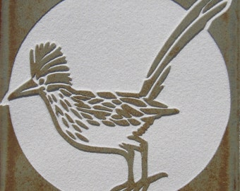 4x4 Roadrunner - Etched Porcelain Tile - SRA