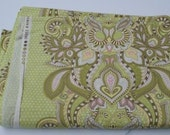 Green Owl Hushabye by Tula Pink very rare OOP Fat Quarter LAST ONE