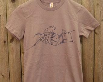 Rats vs Animal Tester: Men's (Unisex) T-shirt