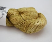 Silk Lace- 100% Silk  - Colonel Mustard