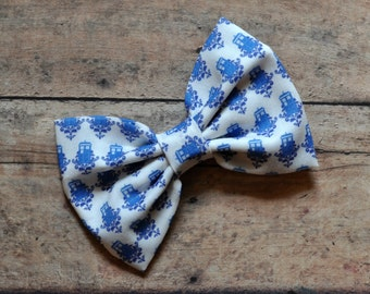Doctor Who Tardis Fabric Bow 3.5 Inches