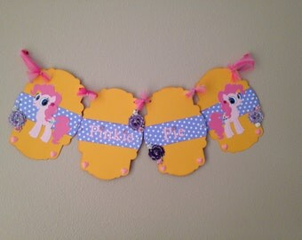 Pinkie Pie Banner-One of A Kind-REDUCED
