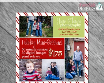 INSTANT DOWNLOAD - Believe Marketing Board 4- custom 5x5 photo template