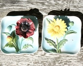 Ceramic Flower 3D wall hangings