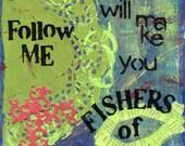 Fishers of Men - Blue (print)