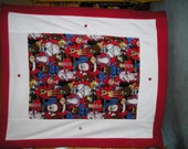 Rudolph the Red Nosed Reindeer Double Fleece Blanket 50th anniversary - 4 options to choose from - Cozy and Warm