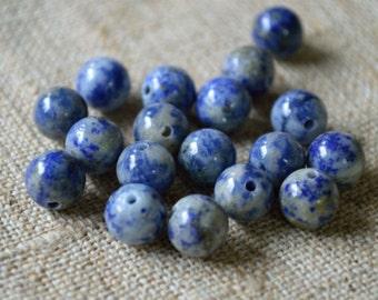 Sodalite 6mm Round Beads Gemstone Bead 16 Inch Strand