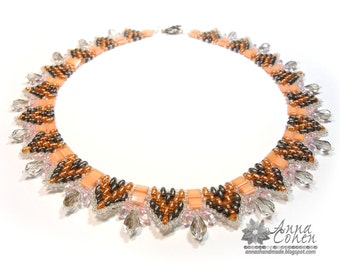 Salmon necklace FREE SHIPPING