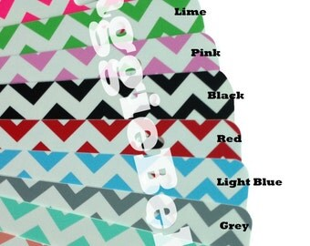 BLANK license plate car tag Chevron Zig Zag Monogram Initials supplies DIY preppy personalized trendy wholesale re sale