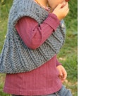 Speedy Shrug PDF pattern newborn, 3, 6, 9, 12, 18 months 2T 3T 4T 5T 6t Super Bulky Yarn